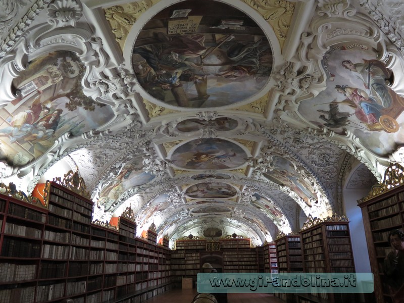 La Sala Teologica del Monastero di Strahov