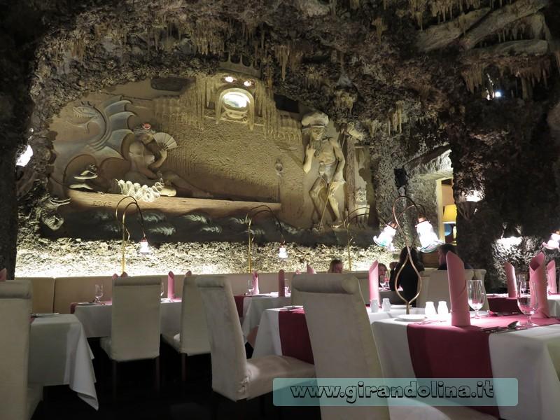 Il ristorante Triton dell' Adria Hotel Prague