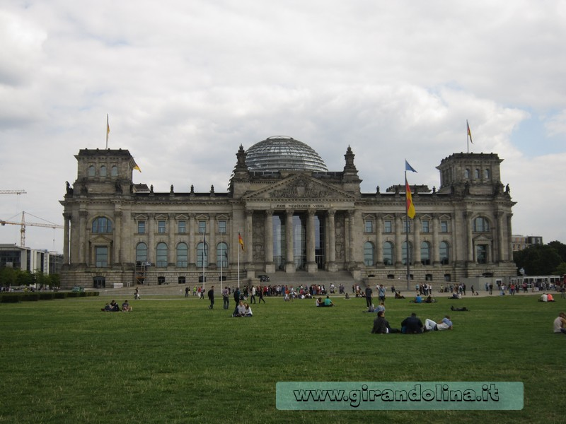 Berlino il Reichstag