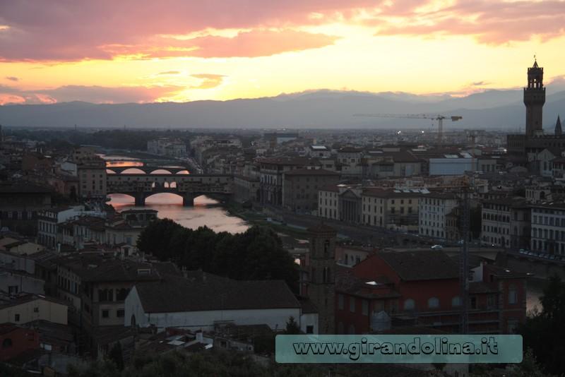 Firenze, Piazzale Michelangelo