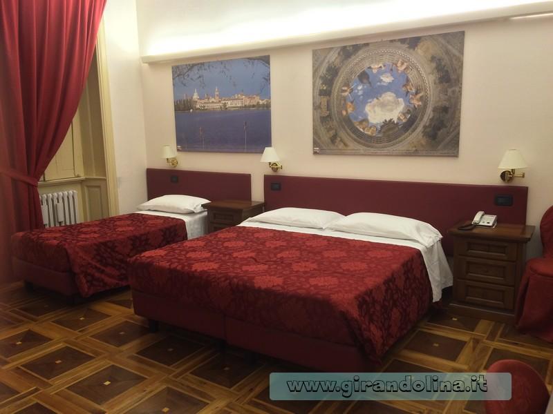 La nostra camera presso l'Hotel Antica Dimora Mantova
