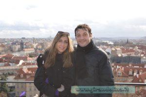 Panorama di Praga