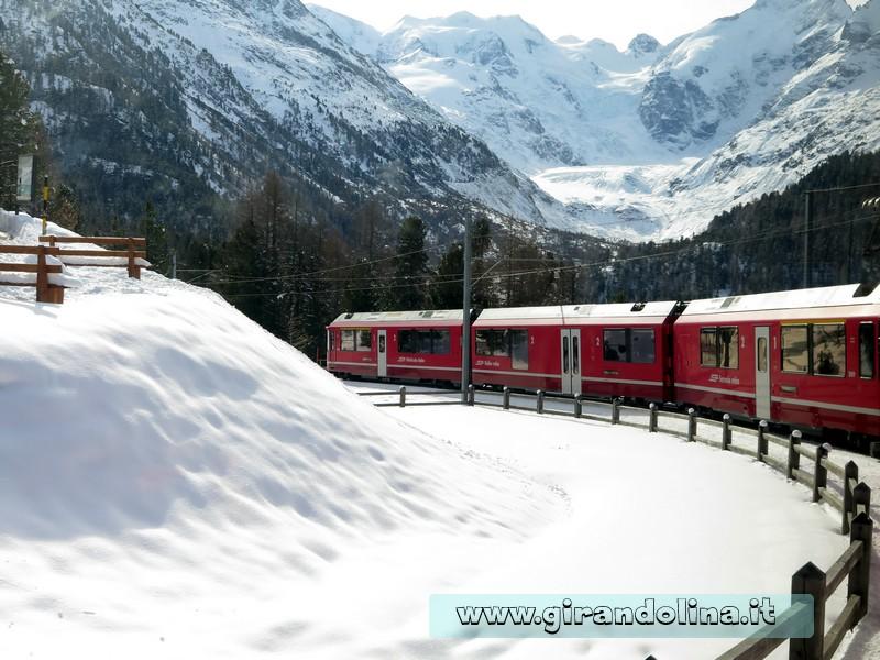 Il Trenino Rosso del Bernina, i panorami