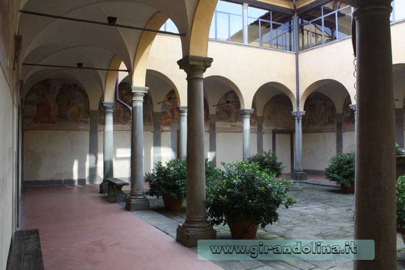 Convento di Giaccherino il Chiostro Minore