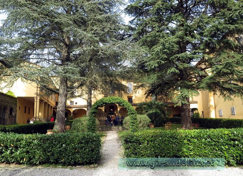 Convento di Giaccherino entrata