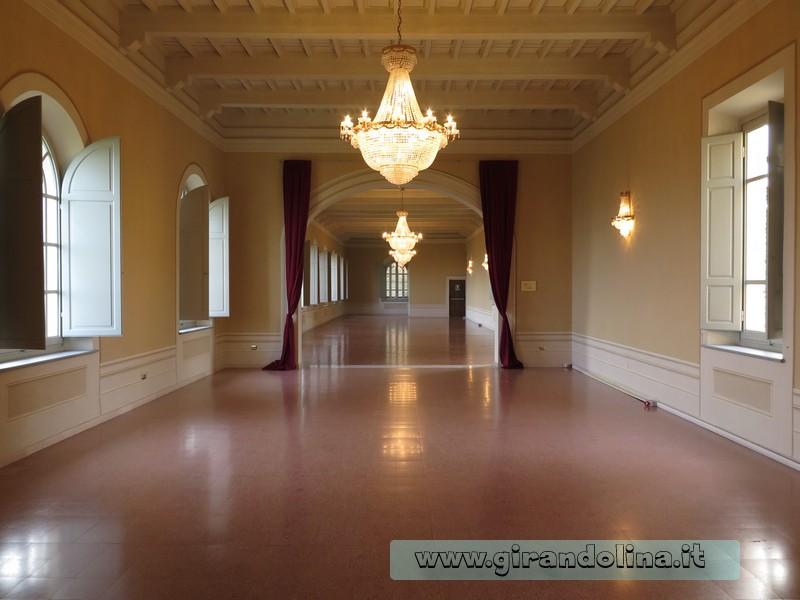 Convento di Giaccherino il Salone delle Feste