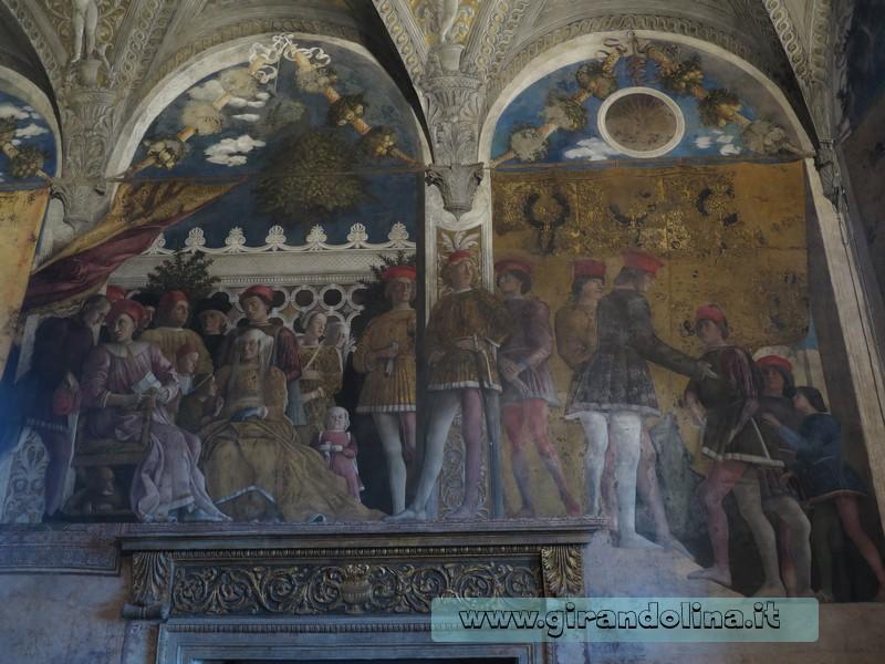 Camera degli Sposi al Castello di Mantova