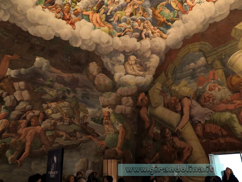 Palazzo Te, la Camera dei Giganti