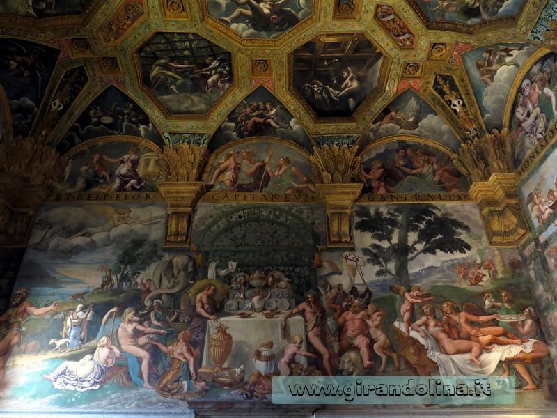 Palazzo Te, la Camera di Psiche e Amore