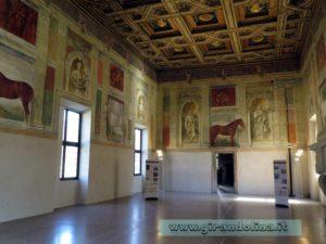 Palazzo Te, Sala dei Cavalli