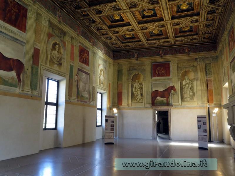 Palazzo Te, la Sala dei Cavalli
