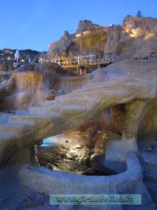 La città di Sharm Vecchia e le sue cascatelle