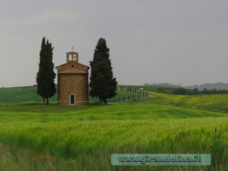 Cappella di Vitaleta della Val d'Orcia