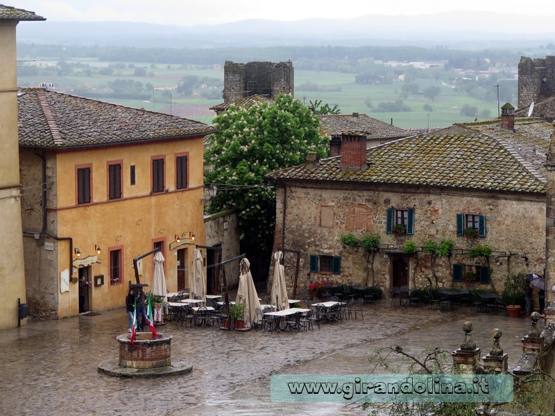 Il borgo di Monteriggioni