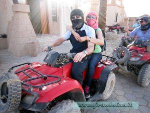 La motorata nel deserto di Sharm El Sheikh