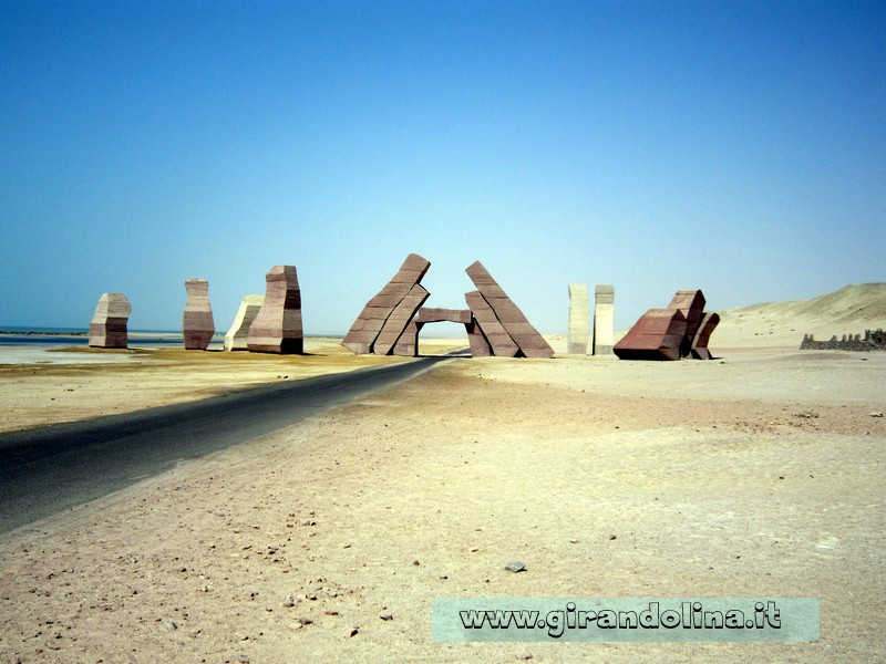 Ingresso al Parco Naturale Marino di Ras Mohammed
