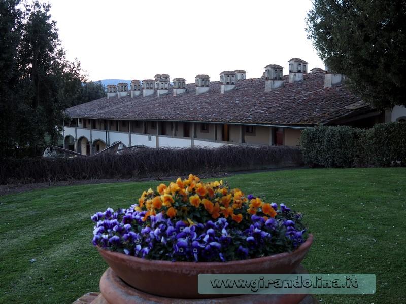 I comignoli della Villa Medicea di Artimino