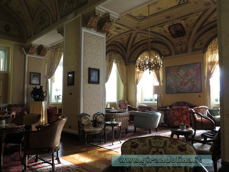 Grand Hotel Villa Serbelloni di Bellagio, la Sala Centrale