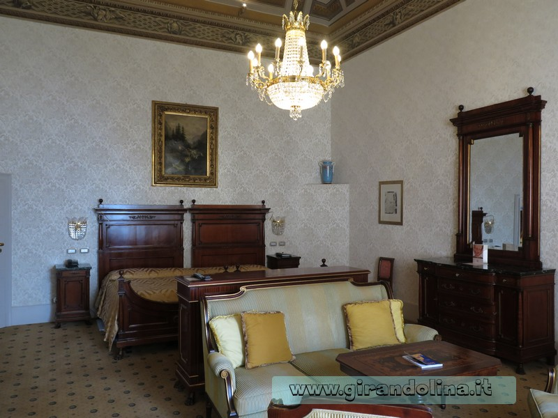 Grand Hotel Villa Serbelloni di Bellagio, la Suite Winston Churchill