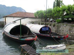 Bellagio le barche tradizionali