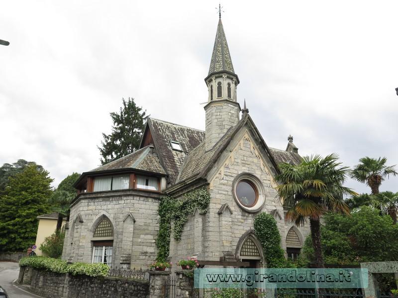 Bellagio, la Chiesa inglese sconsacrata,ora abitazione privata