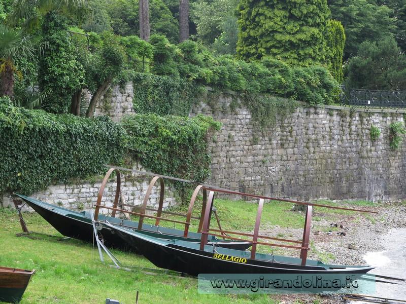 Bellagio, le imbarcazioni Lucie