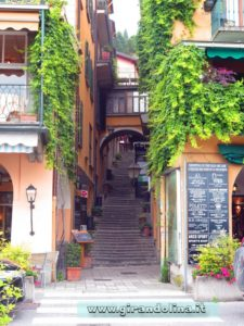 Bellagio, la Salita Mella