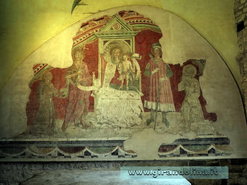 Castello di Poppi, la Cappella