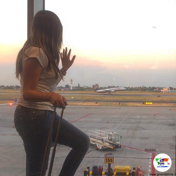 Come prendere un volo aereo-