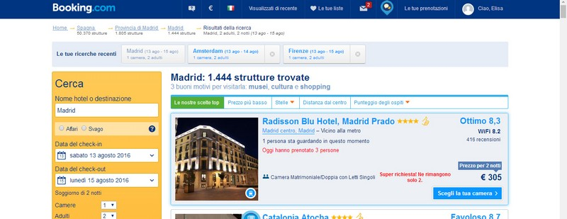 Booking Hotel Radisson Blu Madrid