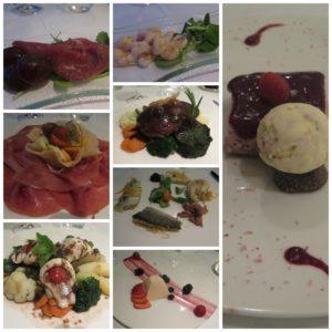 La nostra cena al Ristorante Hotel Belvedere Bellagio