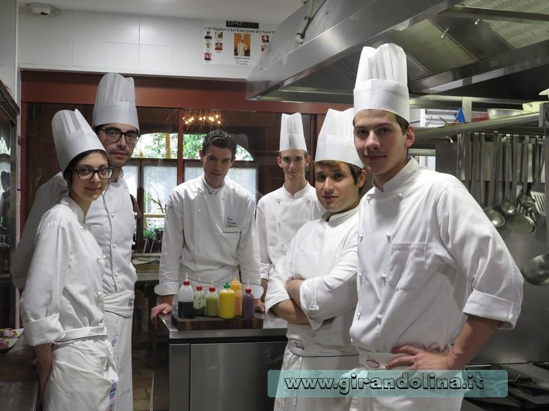 Luigi Gandola e il suo team