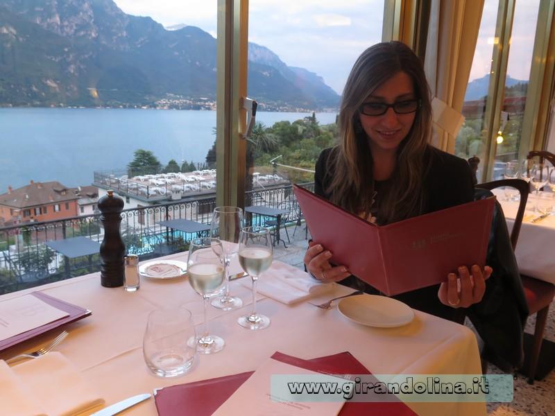 La veranda del Ristorante Hotel Belvedere Bellagio