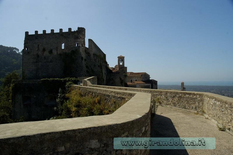 Il Castello Malaspina di Massa, il camminamento