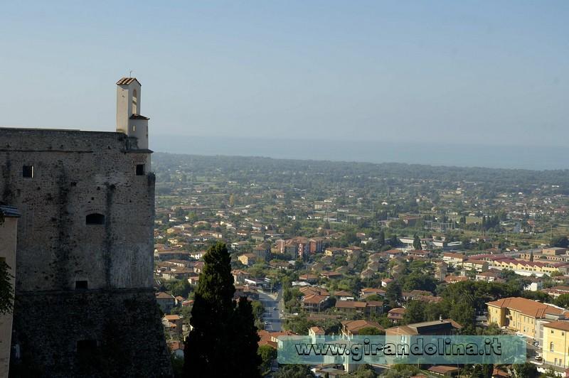 Il Castello Malaspina di Massa, il panorama