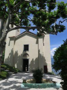 Villa del Balbianello , la Chiesa inesistente