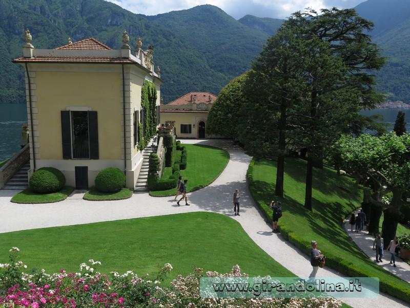 Villa del Balbianello , il giardino