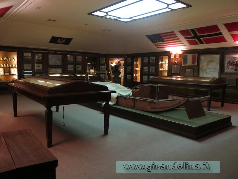 Villa del Balbianello , il Museo delle Spedizioni
