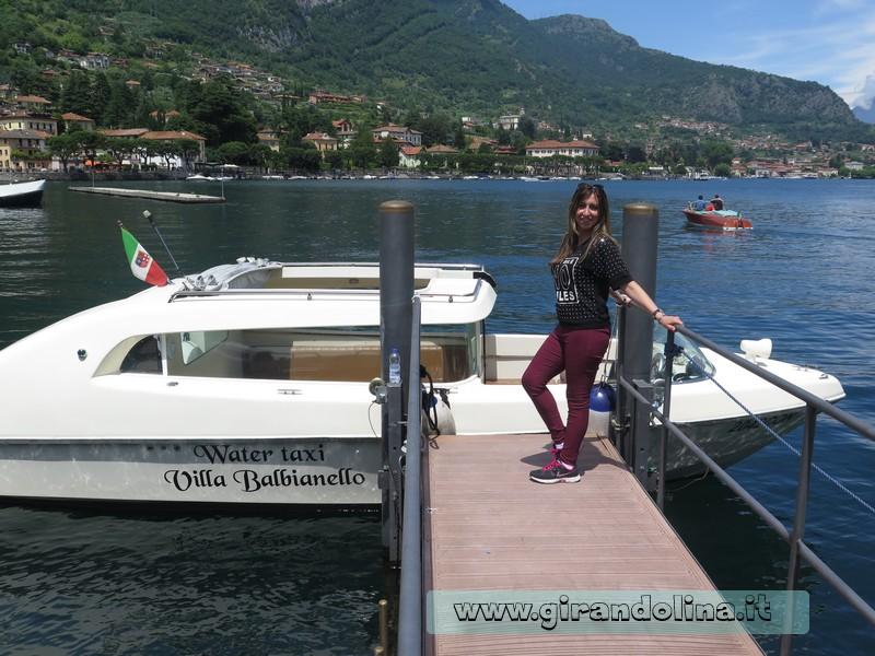 Villa del Balbianello , il taxi boat