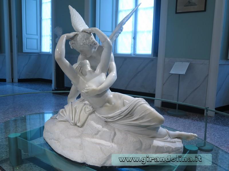 Villa Carlotta e la statua di Psiche e Amore