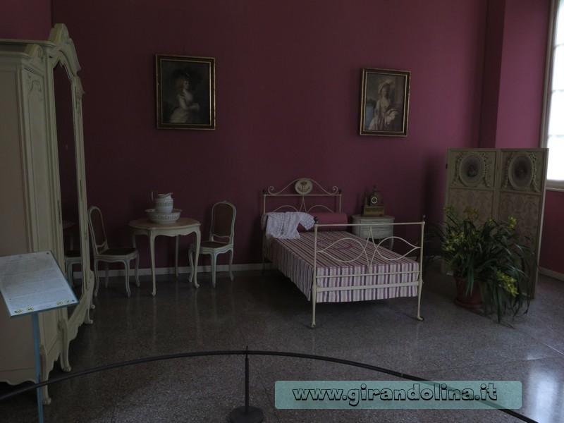 Villa Carlotta e la camera della Principessa Carlotta
