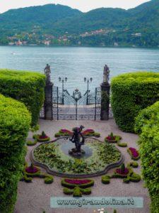 Villa Carlotta e la sua entrata