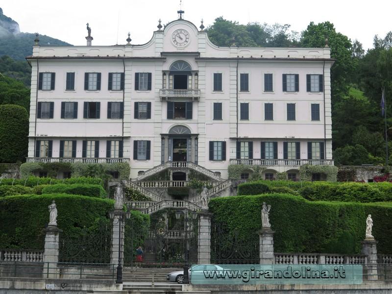 Villa Carlotta la sua facciata