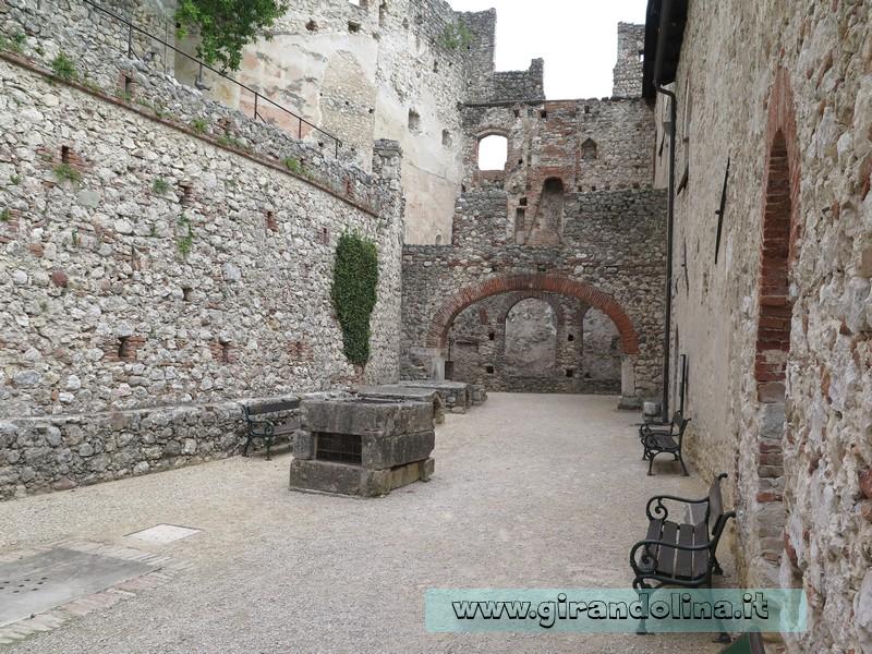 Castello di Avio, entrata al Palazzo Baronale