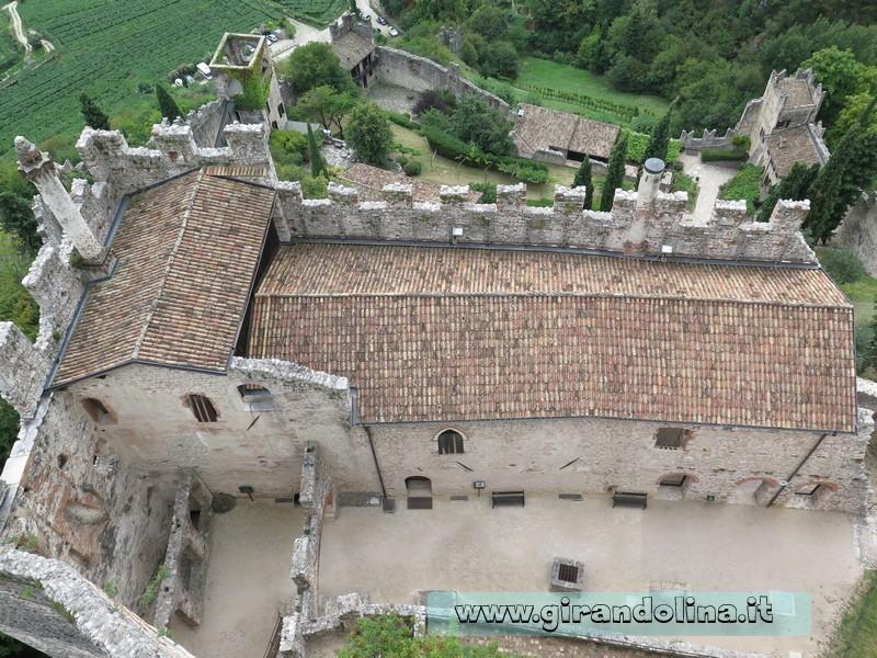 Castello di Avio, dall'alto del Mastio