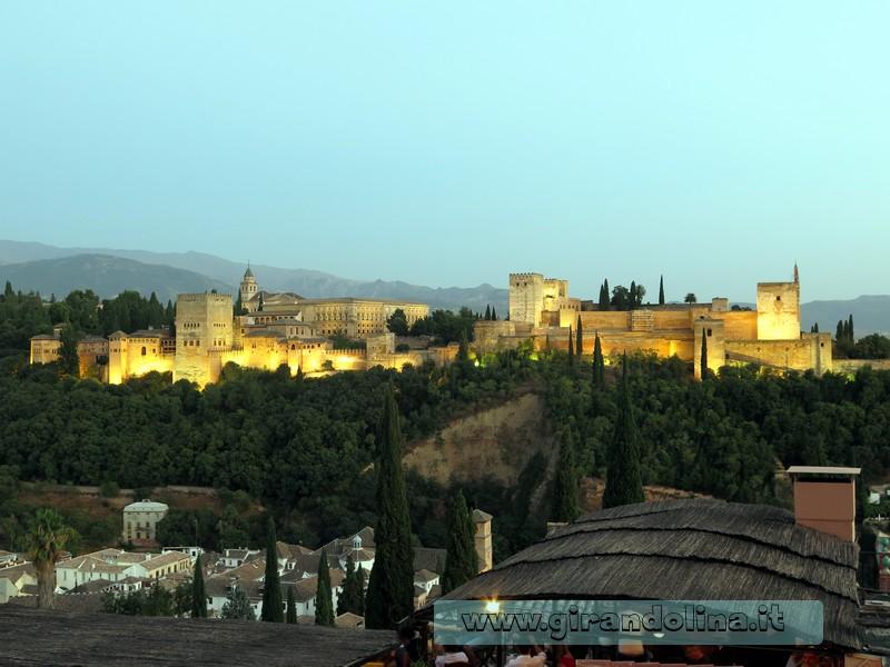 L'Alhambra di Granada - Andalusia
