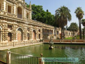 Il Real Alcazar di Siviglia, e i suoi Giardini