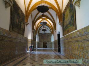 Il Real Alcazar di Siviglia, Salones de Carlos V