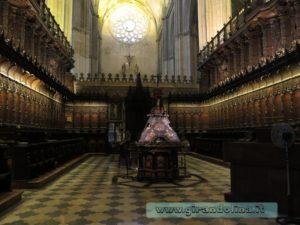 La Cattedrale di Siviglia,il Coro