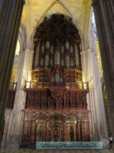 La Cattedrale di Siviglia, la Capilla Mayor